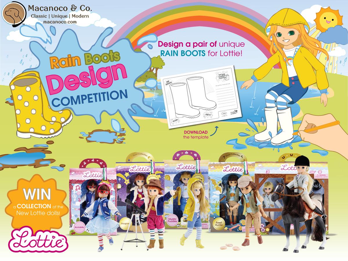 Lottie Doll Rain Boots Design Competition copy
