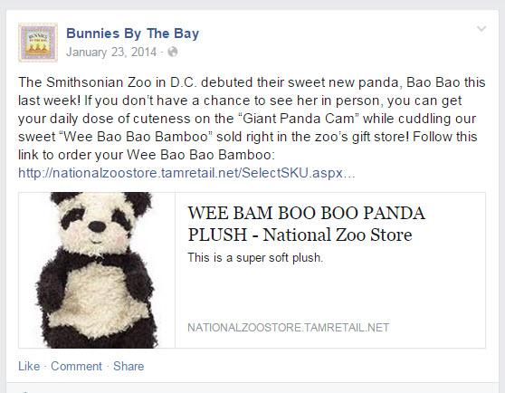 BBTB Press 01-23-2014 Bao Bao Panda Smithsonian Zoo