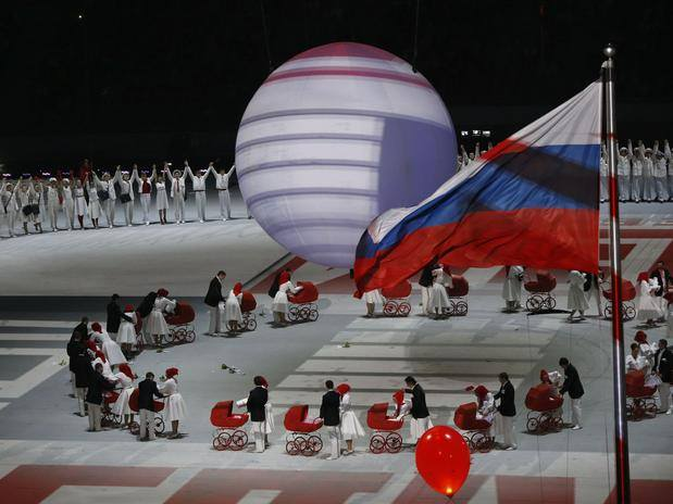 Inglesina Press 02-10-2014 Did you see our beautiful Inglesina prams during the Sochi2014 Opening Ceremony 4