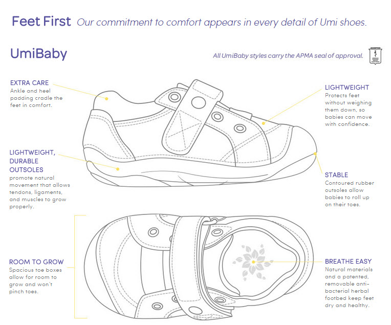 Why Umi Shoes - Baby