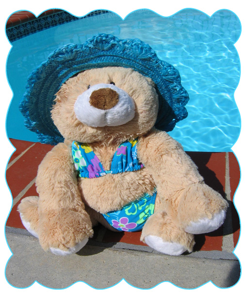#100 Bear Wearing Bikini
