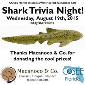 Shark Trivia Night Flyer